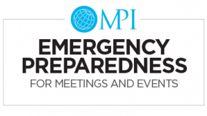 Live Online: Emergency Preparedness For Meetings and Events 10.15.2020
