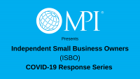How to leverage MPI & the Independent Small Business Owners Community