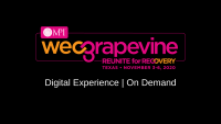 WEC Grapevine 2020   Digital Experience: Experience Design for Virtual Events: Meeting Participant Needs with Intentionally Designed Micro-Moments icon