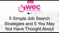 5 Simple Job Search Strategies and 5 You May Not Have Thought About icon