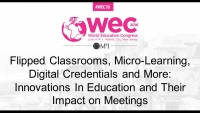 Flipped Classrooms, Micro-Learning, Digital Credentials and More: Innovations In Education and Their Impact on Meetings icon