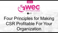 Four Principles for Making CSR Profitable For Your Organization