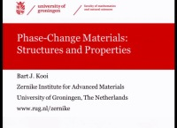 Tutorial Y: Overview of Phase-Change Materials, Their Physics and Applications icon