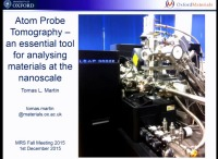 Atom Probe Tomography - An Essential Tool for Analysing Materials at the Nanoscale icon