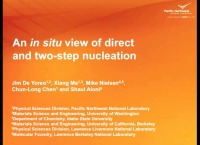 VV2.02 - An In Situ View of Direct and Two-Step Nucleation Dynamics icon