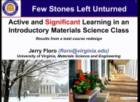 A4.08 - Active and Significant Learning in an Introductory Materials Science Class icon
