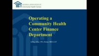 Operating a Health Center Finance Department icon
