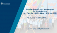 Introduction to Project Management for Health Centers icon