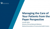 Managing the Care of Your Patients from the Payer Perspective icon