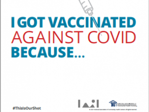 """COVID-19 Vaccine Posters and """"I Got Vaccinated"""" Social Media Images"""