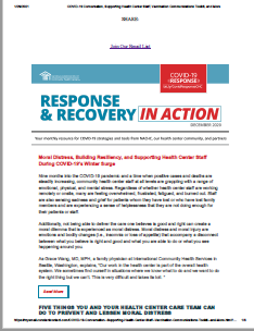 COVID-19 Response and Recovery E-Newsletter