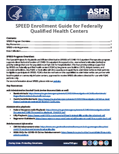 SPEED Enrollment Guide for Federally Qualified Health Centers