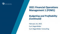 Budgeting and Profitability (cont.) icon