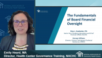 Board Member Boot Camp (Session 3): The Fundamentals of Board Financial Oversight - **Separate Registration Required** icon