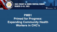 Primed for Progress: Expanding Community Health Workers in CHCs icon
