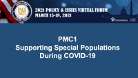 Supporting Special Populations During COVID-19 icon