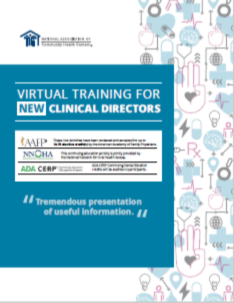 Virtual Training for New Clinical Directors
