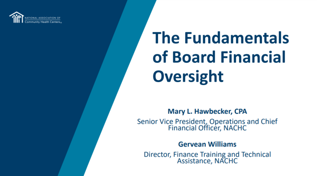 Board Member Boot Camp Part 2: The Fundamentals of Board Financial Oversight icon
