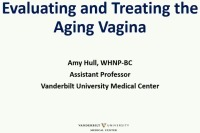 Evaluating and Treating the Aging Vagina