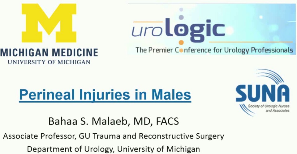 Genitourinary Injuries: Perineal and Pelvic Trauma in Men