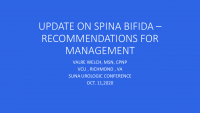 Update on Spina Bifida - Recommendation for Management icon