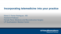 Integrating Telemedicine in a Urology Practice icon
