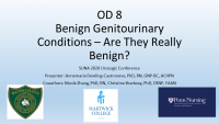 Benign Genitourinary Conditions - Are They Really Benign? icon