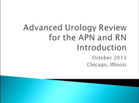 Advanced Urologic Review for the RN and APN