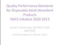 Continence Products: NAFC Recommendations icon