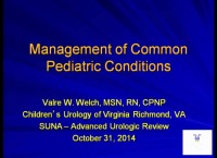 Urologic Review for the Experienced RN and Advanced Practice Provider