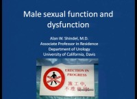 Evaluation and Treatment of the Man with Sexual Concerns