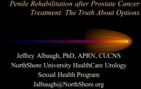 Penile Rehabilitation After Prostate Cancer Treatment: The Truth about Options