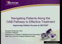 Navigating Patients Along the OAB Pathway to Effective Treatment icon