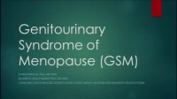 Genitourinary Syndrome of Menopause and Impact on Sexual Health