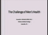 Men's Health for the Advanced Practice Provider (APP) (What's new)
