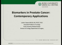 Biomarkers in Prostate Cancer: Contemporary Applications