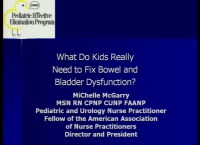 What Do Kids Really Need to Treat Bowel and Bladder Dysfunction?