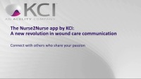 The Nurse2Nurse App by KCI: A New Revolution in Wound Care Communication icon