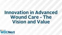 Innovation in Advanced Wound Care - The Vision and Value