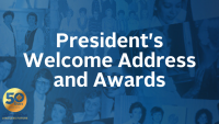 President's Welcome Address and Awards icon