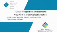 """""""Glocal"""" Perspectives on Healthcare: WOC Practice with Diverse Populations icon"""