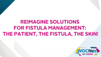 Reimagine Solutions for Fistula Management: The Patient, The Fistula, The Skin!