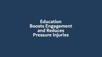 Education Boosts Engagement and Reduces Pressure Injuries icon