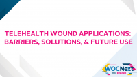 Telehealth Wound Applications: Barriers, Solutions, & Future Use