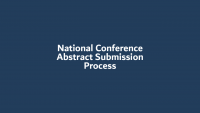 National Conference Abstract Submission Process icon
