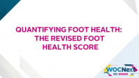 Quantifying Foot Health: The Revised Foot Health Score icon
