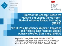Reporting and Refining Best Practice: Medical Adhesive Related Skin Injury (MARSI) icon