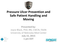 Pressure Ulcer Prevention and Safe Patient Handling: Can they be Combined? icon