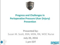 Progress and Challenges in Perioperative Pressure Ulcer (Injury) Prevention icon