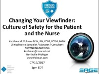 Changing Your Viewfinder: Culture of Safety for the Patient and the Nurse icon